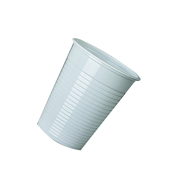 MyCafe Plastic Disposable Cups 7oz White (Pack of 2000) DVPPWHCU02000