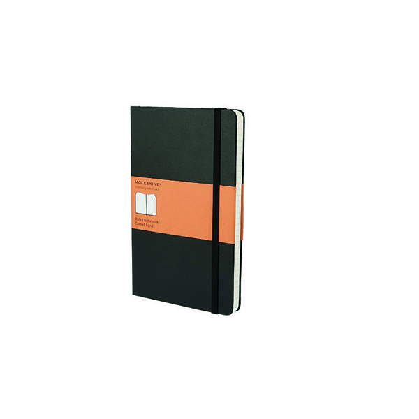 Moleskine Ruled Soft Cover Notebook Large Black QP616