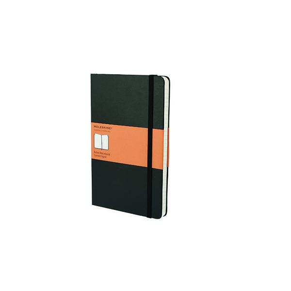 Image for Moleskine Ruled Soft Cover Notebook Large Black QP616
