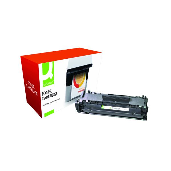 Q-Connect Compatible Solution HP 12A Black Laserjet Toner Cartridge Q2612A
