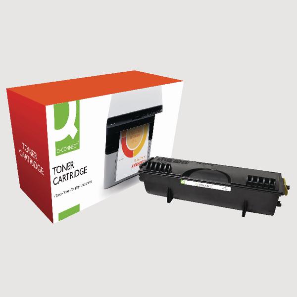 Q-Connect Brother Remanufactured Black Toner Cartridge TN7600