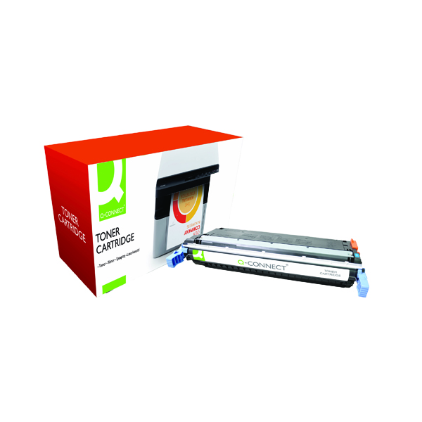 Q-Connect HP 645A Remanufactured Cyan Laserjet Toner Cartridge C9731A