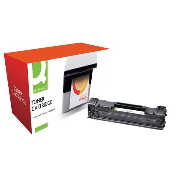 Q-Connect Compatible Solution Canon 3484B002 Black Toner Cartridge CRG725