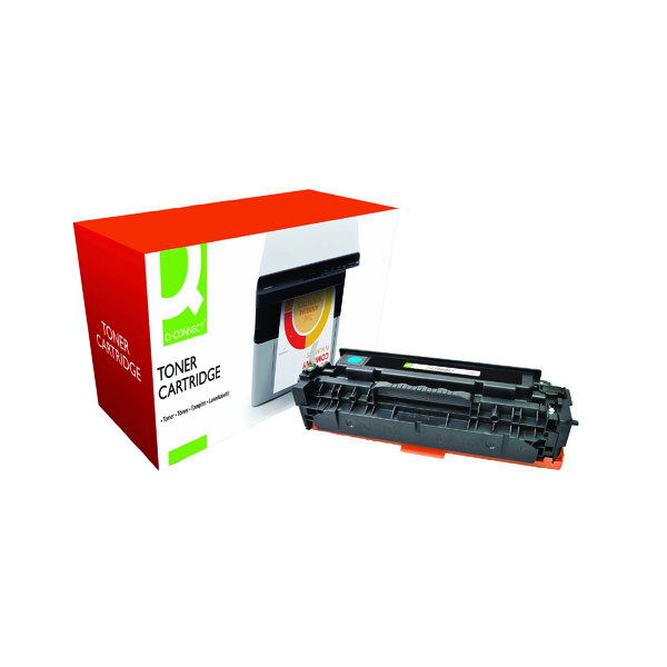 Q-Connect Compatible Solution HP 304A Cyan Laserjet Toner Cartridge CC531A