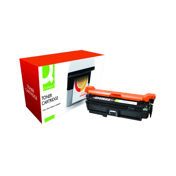 Q-Connect Compatible Solution HP 504A Black Laserjet Toner Cartridge CE250A