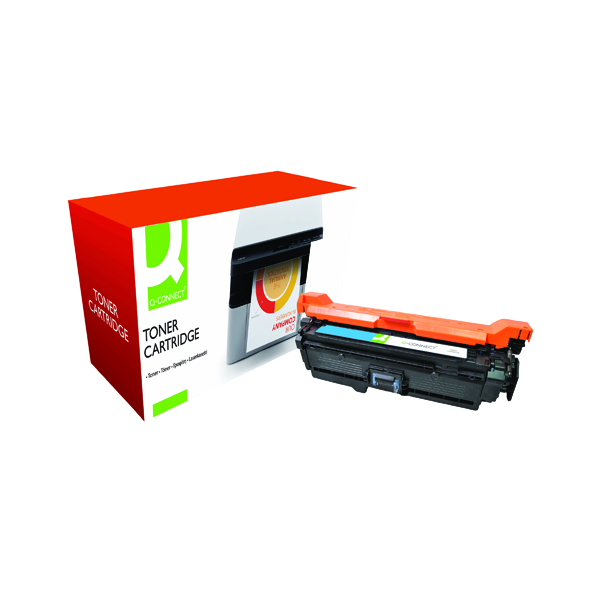 Q-Connect Compatible Solution HP 504A Cyan Laserjet Toner Cartridge CE251A