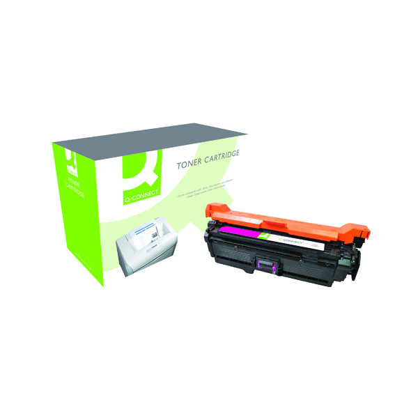 Q-Connect Compatible Solution HP 504A Magenta Laserjet Toner Cartridge CE253A