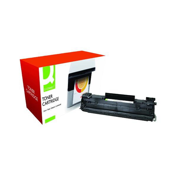 Q-Connect Compatible Solution HP 78A Black Laserjet Toner Cartridge CE278A
