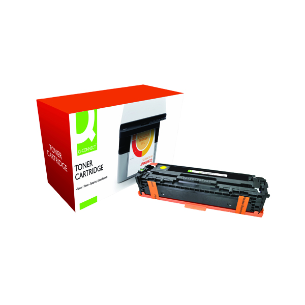 Q-Connect Compatible Solution HP 128A Yellow Laserjet Toner Cartridge CE322A
