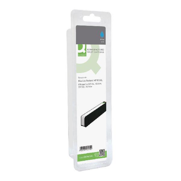 Q-Connect HP 971XL Remanufactured Cyan Ink Cartridge High Yield CN626AE