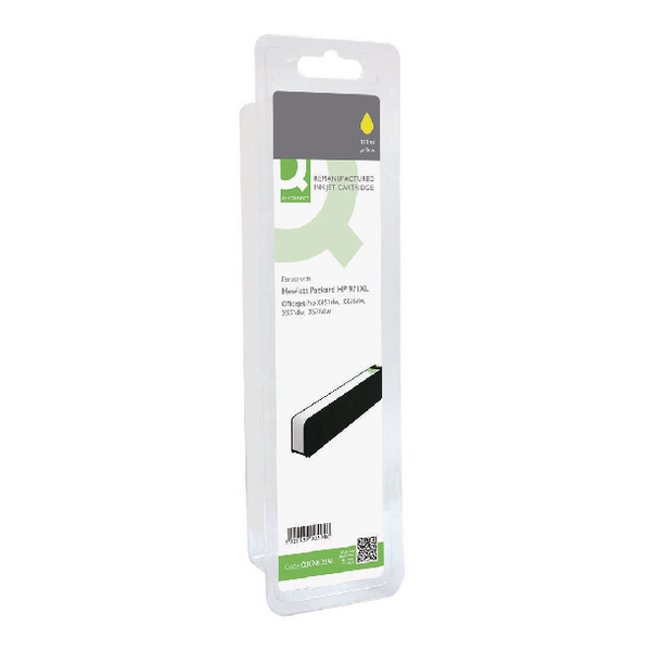 Q-Connect HP 971XL Remanufactured Yellow Ink Cartridge High Yield CN628AE