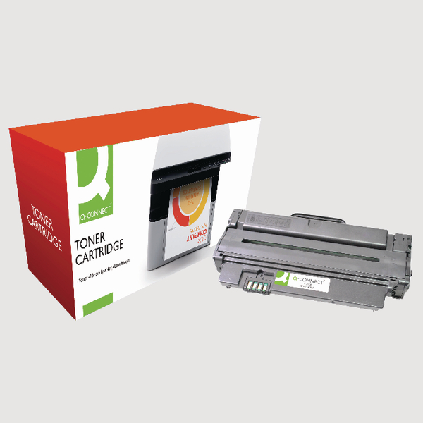 Q-Connect Compatible Solution Samsung 1052S Black Toner Cartridge MLT-D1052S/ELS
