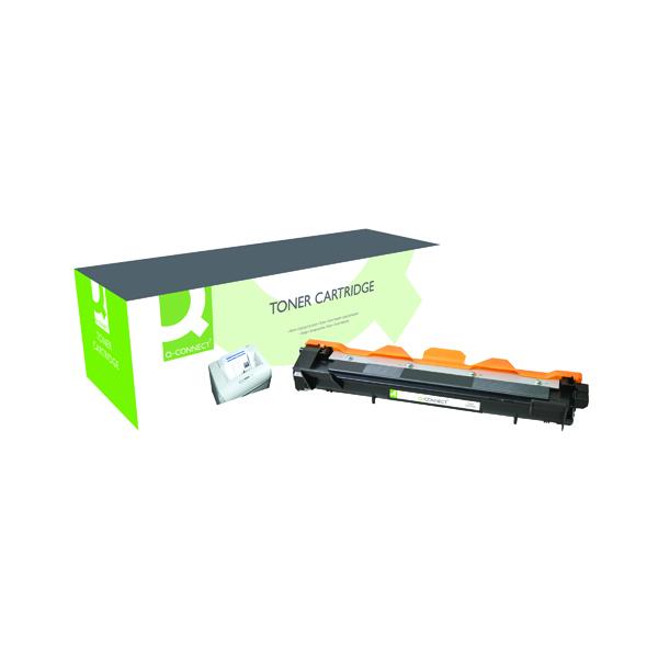 Q-Connect Brother TN1050 Black Toner Cartridge TN1050-COMP PL