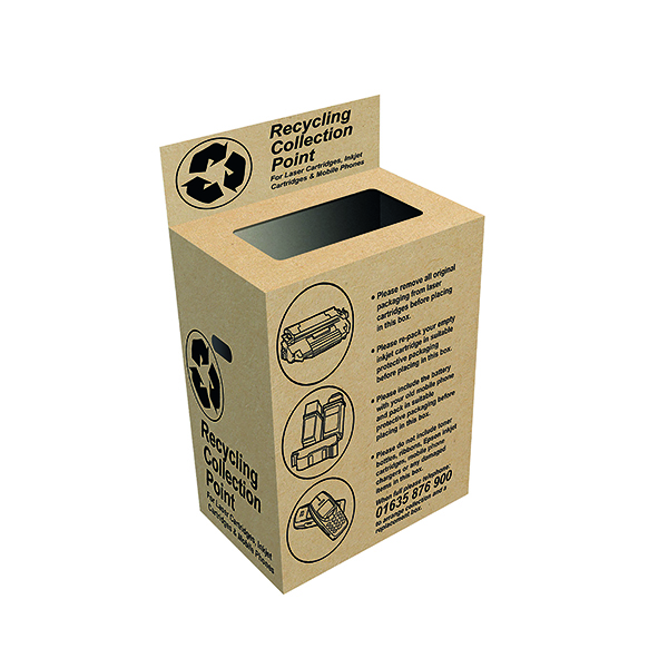 Image for VOW Q-Connect Toner and Inkjet Recycling Box RECBOX (1)