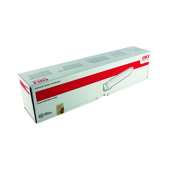 Oki Yellow Toner Cartridge (15,000 Page Capacity) 42918913