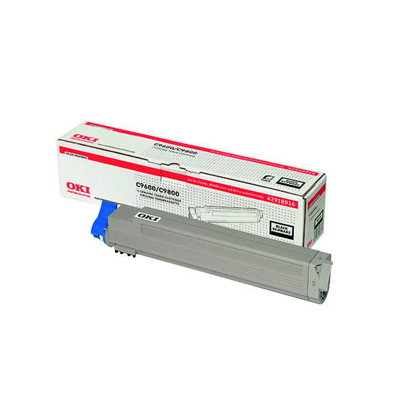 Oki Black Toner Cartridge (15,000 Page Capacity) 42918916