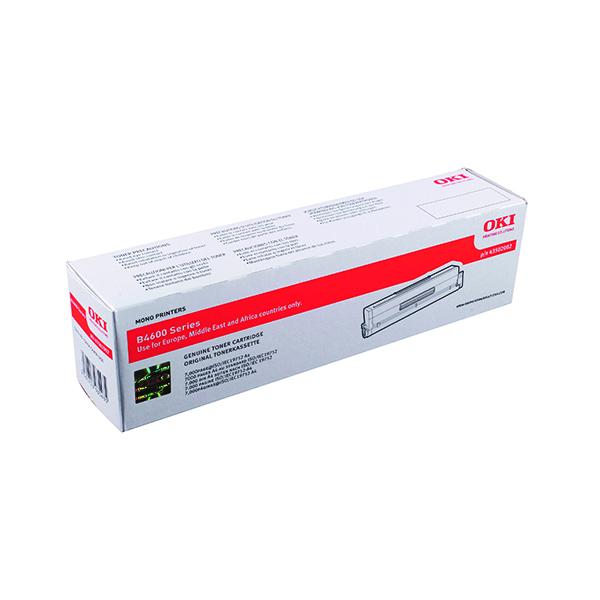 Oki Black Toner Cartridge High Capacity (Capacity: 7000 pages) 43502002