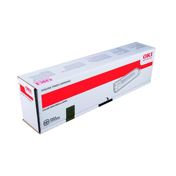 Oki C8600/C8800 Black Toner Cartridge 43487712