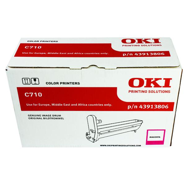 Oki C710 Magenta Image Drum (15,000 Page Capacity) 43913806