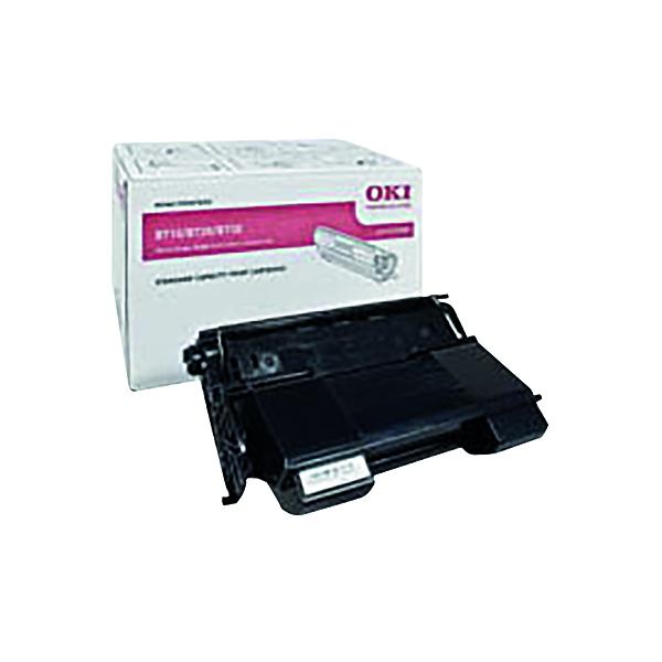 Oki Black Toner Cartridge (15,000 Page Capacity) 01279001