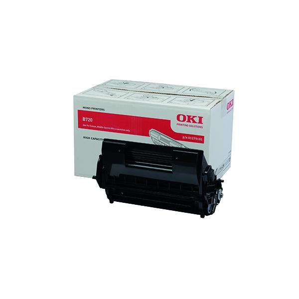 Oki Black Toner Cartridge High Capacity (Capacity: 20,000 pages) 01279101