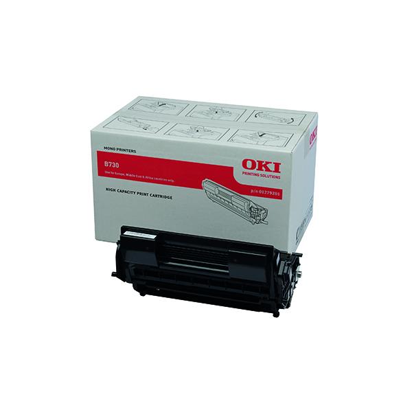 Oki Black Toner Cartridge Extra High Yield 01279201