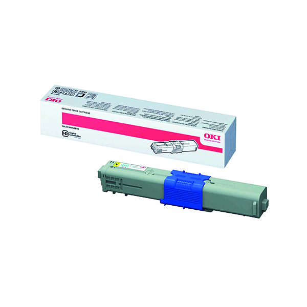 Oki Yellow Toner Cartridge High Capacity (5000 page capacity) 44469722
