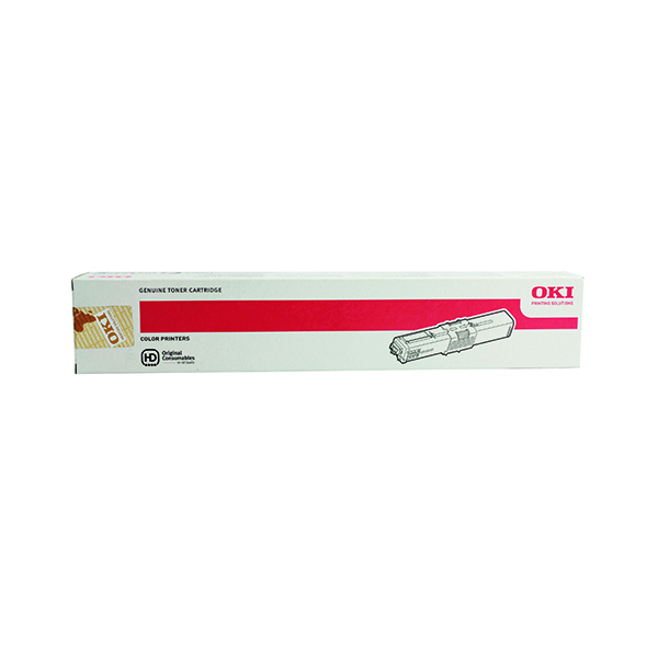 Oki Cyan Toner Cartridge High Capacity 44469724