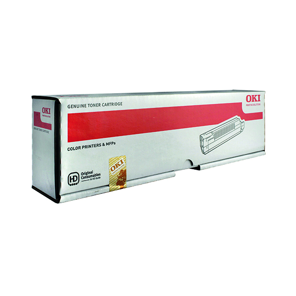 Oki Black Toner Cartridge (7,000 Page Capacity) 44643004