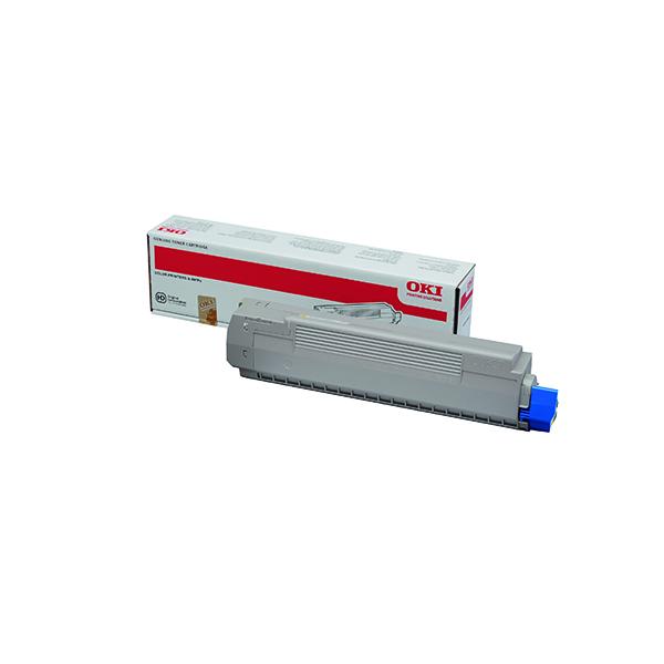 Oki Yellow Toner Cartridge (7,300 Page Capacity) 44059165