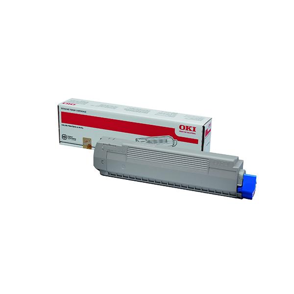 Oki Magenta Toner Cartridge (7,300 Page Capacity) 44059166