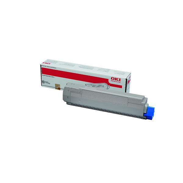 Oki MC851/MC861 Cyan Toner Cartridge 44059167