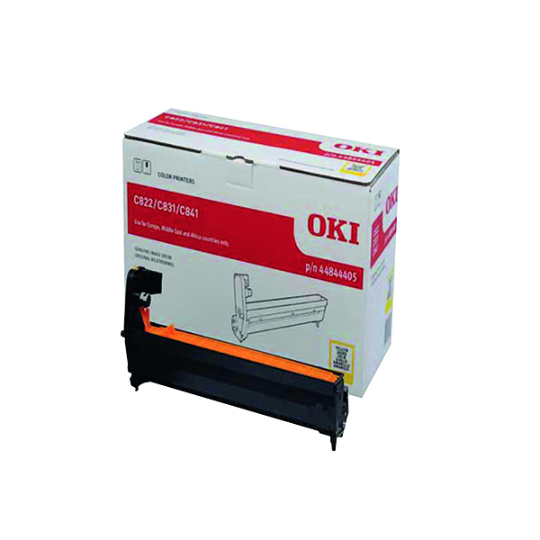 Oki C831/841 EP Yellow Image Drum 44844405