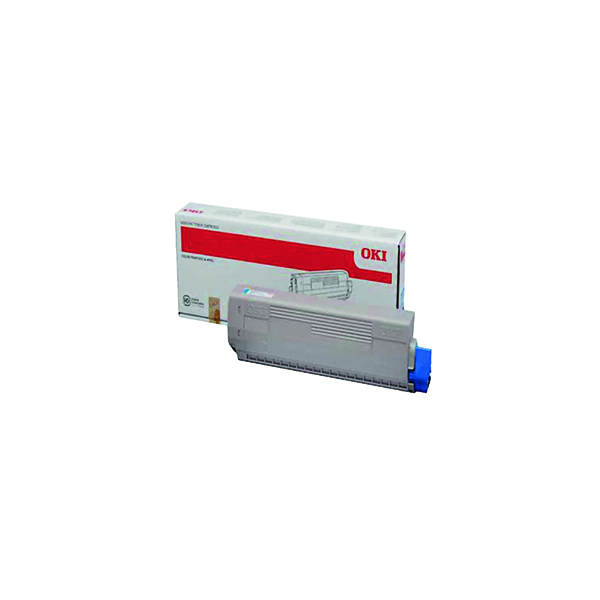 Oki Black Toner Cartridge (10,000 Page Capacity) 44844508