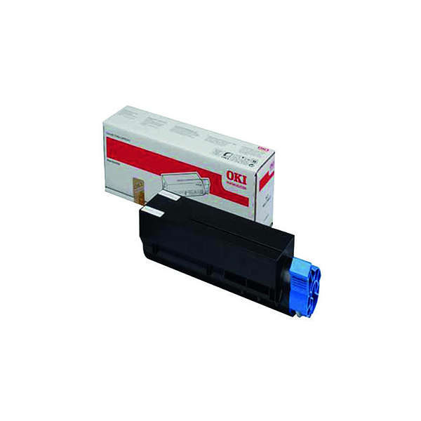 Oki Black Toner Cartridge (1,500 Page Capacity) 44992401