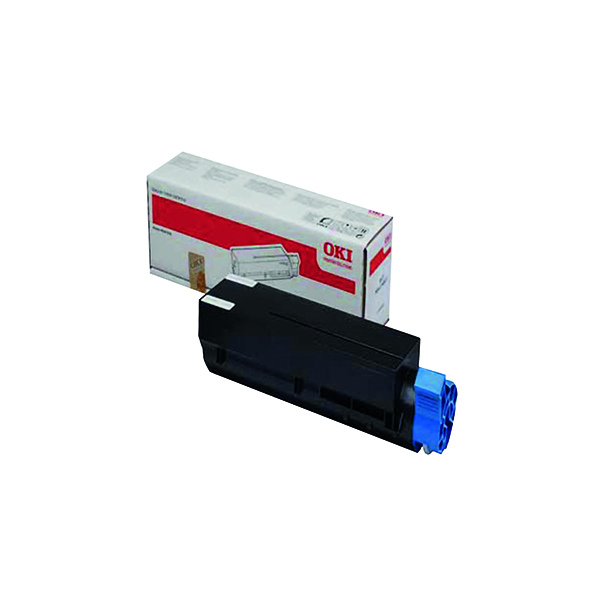 Oki Black Toner Cartridge High Capacity (Capacity: 2500 pages) 44992402