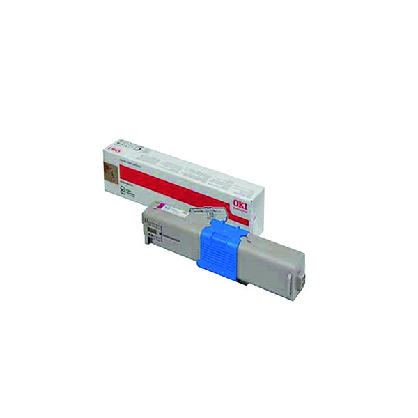 Oki Magenta Toner Cartridge (1,500 Page Capacity) 44973534