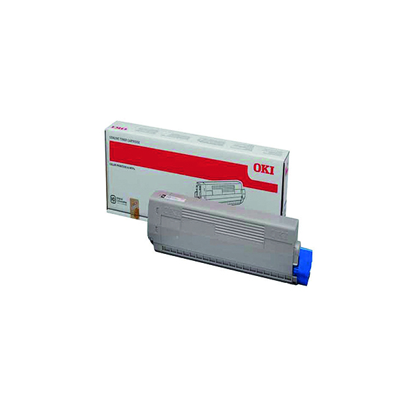 Oki C822 Black Toner Cartridge 44844616