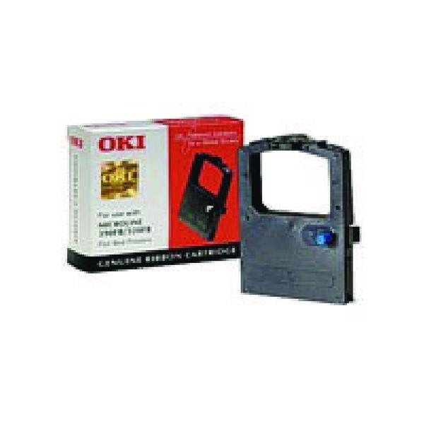 Oki Black Fabric Ribbon For Microline 320/390 9002310