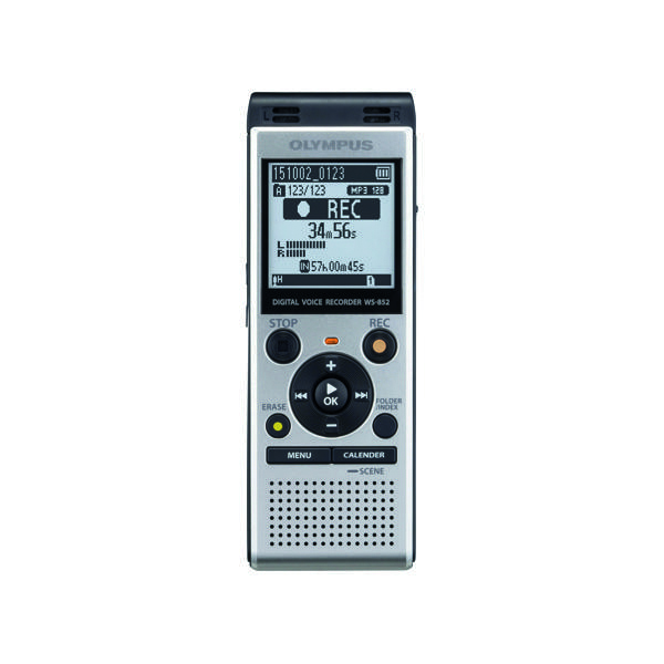 Image for Olympus WS-852 Digital Voice Recorder Silver V415121SE000
