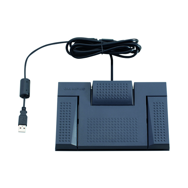 Image for Olympus RS28H USB Foot Pedal Black V4521410E000