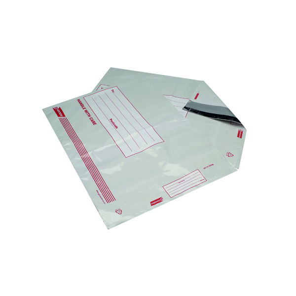 Go Secure Extra Strong Polythene Envelopes 460x430mm (Pack of 25)