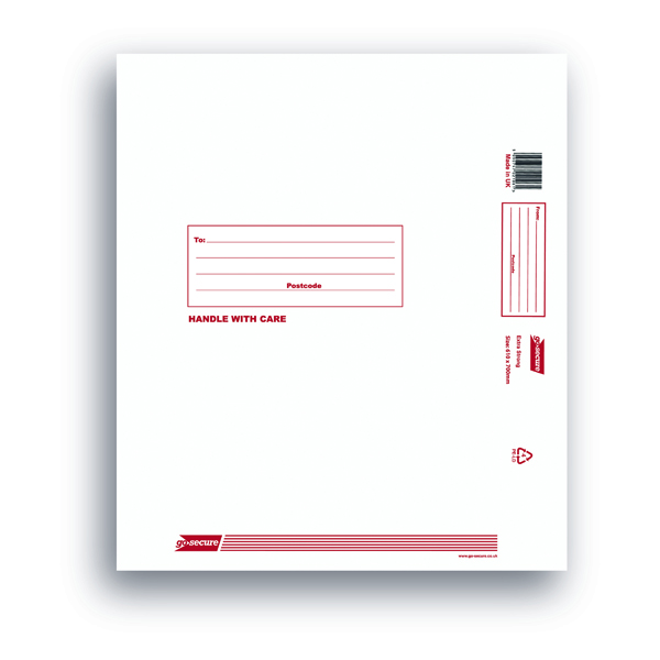 Go Secure Extra Strong Polythene Envelopes 610x700mm (Pack of 25)