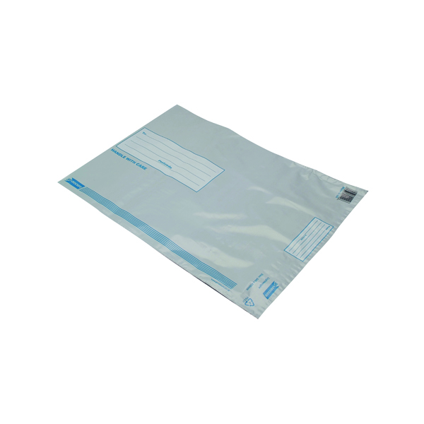 GoSecure Envelope Lightweight Polythene 460x430mm Opaque (Pack of 100)