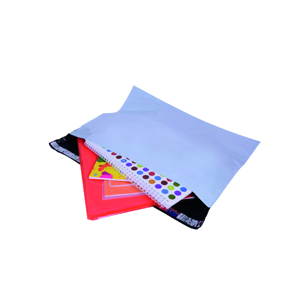 GoSecure Envelope Extra Strong Polythene 440x320mm Opaque (Pack of 100) PB26262