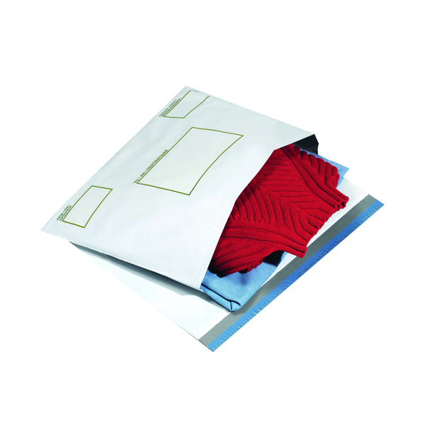 Image for Ampac Envelope 400x430mm Extra Strong Oxo-Biodegradable Polythene Opaque (Pack of 100) KSV-BIO5
