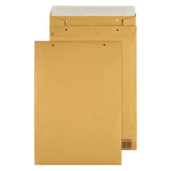 GoSecure Manilla E4 Gusset Pocket Envelope 140gsm (Pack of 100) REPDE4