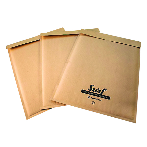 GoSecure Size K7 Surf Kraft Paper Mailer 350mmx470mm (Pack of 100) SURFK7K