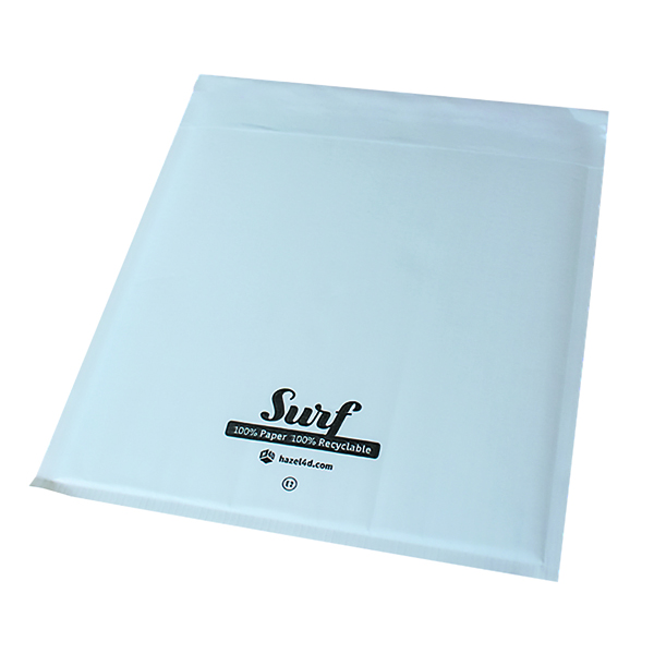 GoSecure Size A000 Surf Paper Mailer 110mmx165mm White (Pack of 200) SURFA000