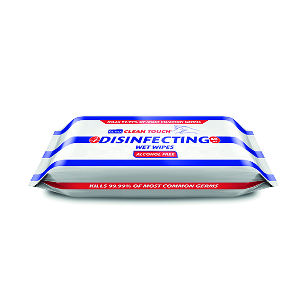 Ultraclene Touch Disinfect 48 Wipes (Pack of 18) HOULT001